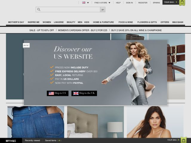 Image Result For Marks And Spencer Promotion Code