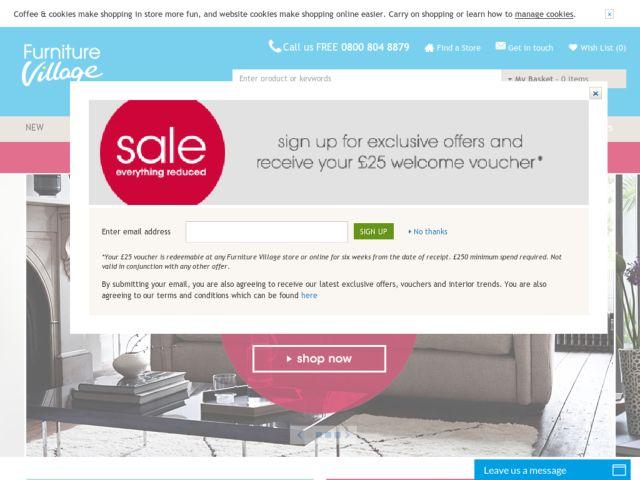 Furniture Village Discount Code Intended Inspiration
